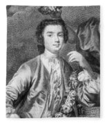 Farinelli (1705-1782) Fleece Blanket