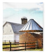 Farm Life Fleece Blanket