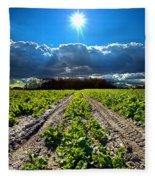 Farmer's Way Fleece Blanket