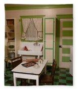 Farmhouse Kitchen Fleece Blanket
