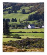 Farmland Near Kilgarvan County Kerry Fleece Blanket