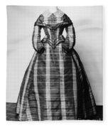 Fashion: Dress, C1865 Fleece Blanket