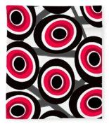 Fashion Spots  Fleece Blanket