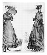 Fashion: Women, 1868 Fleece Blanket