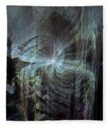 Fear Of The Unknown Fleece Blanket