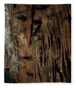 Featured Grotte De Magdaleine In South France Region Ardeche Fleece Blanket