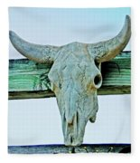 Fence Decor Ranch Style Fleece Blanket