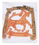 Fenrir Fleece Blanket