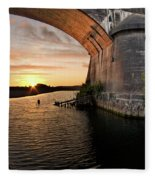 Fernbridge Sunset Fleece Blanket