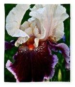 Festive Iris Fleece Blanket
