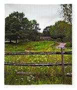 Field Of Flowers 3 Fleece Blanket