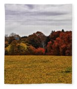 Fields Of Gold Fleece Blanket
