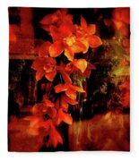 Fiery Ladies Fleece Blanket