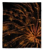 Fiery Fleece Blanket