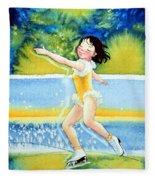 Figure Skater 18 Fleece Blanket