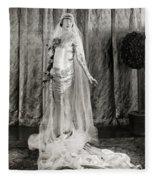 Film: Fair Lady, 1922 Fleece Blanket