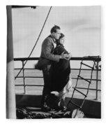 Film: Lying Lips, 1921 Fleece Blanket