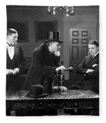 Film Still: Men Group Fleece Blanket