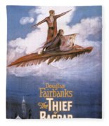 Film: The Thief Of Bagdad: Fleece Blanket