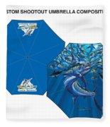 Fine Art Umbrellas Fleece Blanket