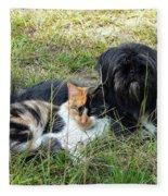 Fine Friends Fleece Blanket