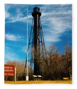 Finns Point Light Fleece Blanket