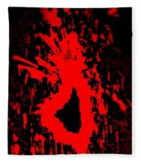 Fire Dance Fleece Blanket