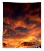 Fireclouds Fleece Blanket
