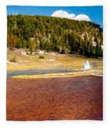 Firehole Lake Fleece Blanket