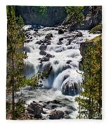 Firehole River IIi Fleece Blanket