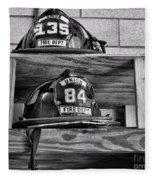 Fireman - Fire Helmets Fleece Blanket
