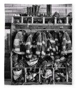 Fireman - Jackets Helmets And Boots Fleece Blanket