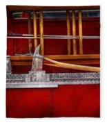 Fireman - Nice Axe  Fleece Blanket
