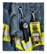 Fireman - The Fireman's Coat Fleece Blanket