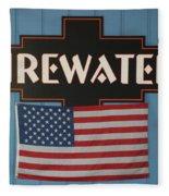 Firewater Fleece Blanket