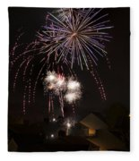 Fireworks 1 Fleece Blanket