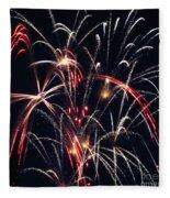 Fireworks Two Fleece Blanket
