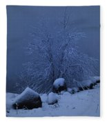 First Light First Snow II Fleece Blanket