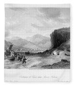 First Opium War, C1841 Fleece Blanket