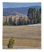 Fish Creek Valley Fleece Blanket