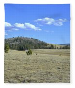 Fish Creek Valley II Fleece Blanket