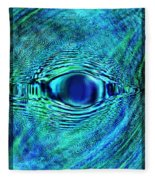 Fish Eye Fleece Blanket