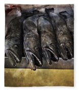 Fish Market Seville Metropol Parasol Fleece Blanket