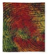 Fish Scale Fleece Blanket