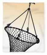 Fishing Net Fleece Blanket