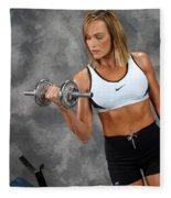 Fitness 5 Fleece Blanket