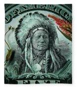 Five Bucks  Fleece Blanket