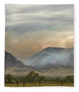 Flagstaff Fire Fleece Blanket