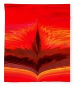 Flame 3 Fleece Blanket