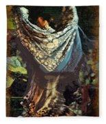 Flamenco Series No 1 Fleece Blanket